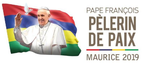 This is the logo for Pope Francis' trip to Mauritius. The Vatican confirmed that Pope Francis will visit island nation as well as Madagascar and Mozambique Sept. 4-10.