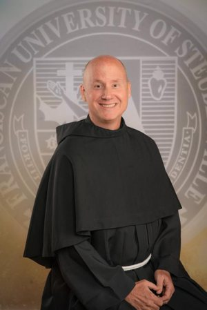 Franciscan Father David Pivonka was elected May 21, 2019, as the seventh president of the Franciscan University of Steubenville in Ohio. He succeeds Franciscan Father Sean O. Sheridan, who had served as president since 2013 until his resignation in April. Father Pivonka is pictured in an undated photo.