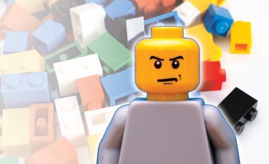 Angry lego guy
