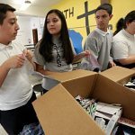 Youth's compassion for the homeless leads to annual outreach