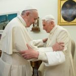 Celebrating 93rd birthday, retired pope is well, but without visitors due to COVID-19, secretary says