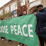 North Minneapolis parish raises banner for peace
