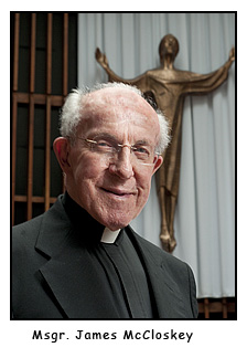 In memoriam: Msgr. James McCloskey