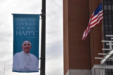 #PopeInUS (Sun photo | Katherine Long)
