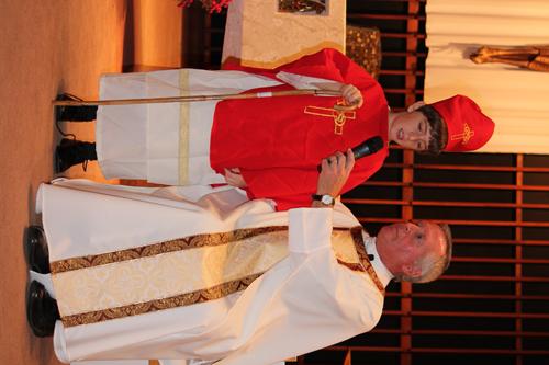 Peter del Pino e1447447272276 1 - Immaculate Conception School celebrates All Saints Day