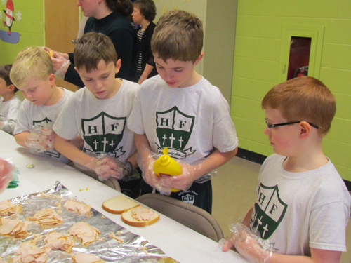 holy family syracuse IMG 45211 1 - #MercyExtended: Catholic Schools Day of Service