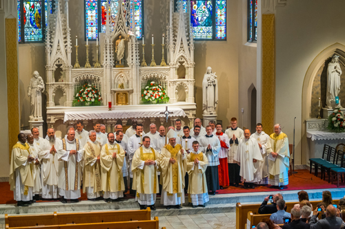 LyonsDeaconOrdination 015 1 - 'A minister of charity and a servant of love':  Seminarian Matthew Lyons ordained to the transitional diaconate
