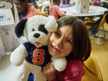 Elizaberth Labaff 1 - Church kids build toy bears and make tykes' day