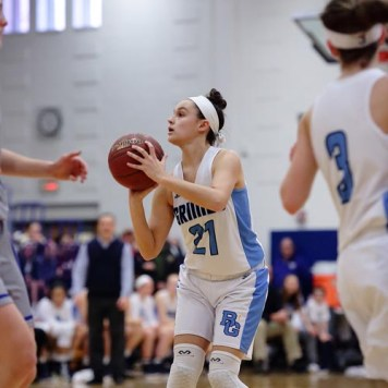 Grimes No. 21 Sarah Snavlin 1 - Ludden, Grimes girls to face off in basketball final