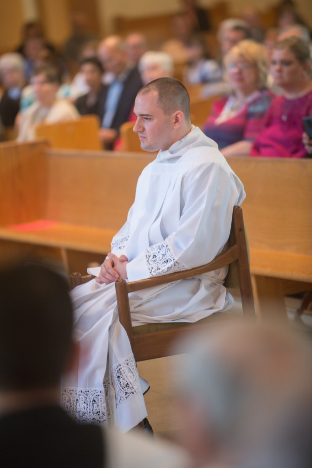 Cath 3 1 - Called to serve: Matthew Rawson ordained to transitional diaconate