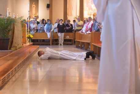 Cath 4 1 - Called to serve: Matthew Rawson ordained to transitional diaconate