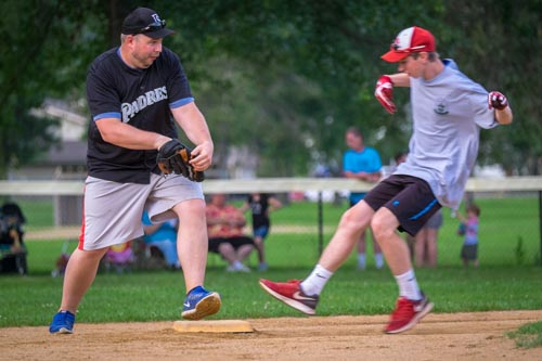 meninblacksoftball 15 1 - Here come the Men in Black