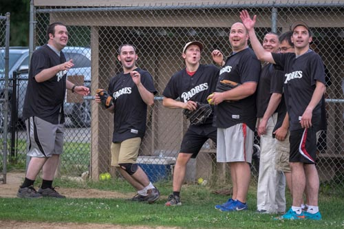 meninblacksoftball 18 1 - Here come the Men in Black