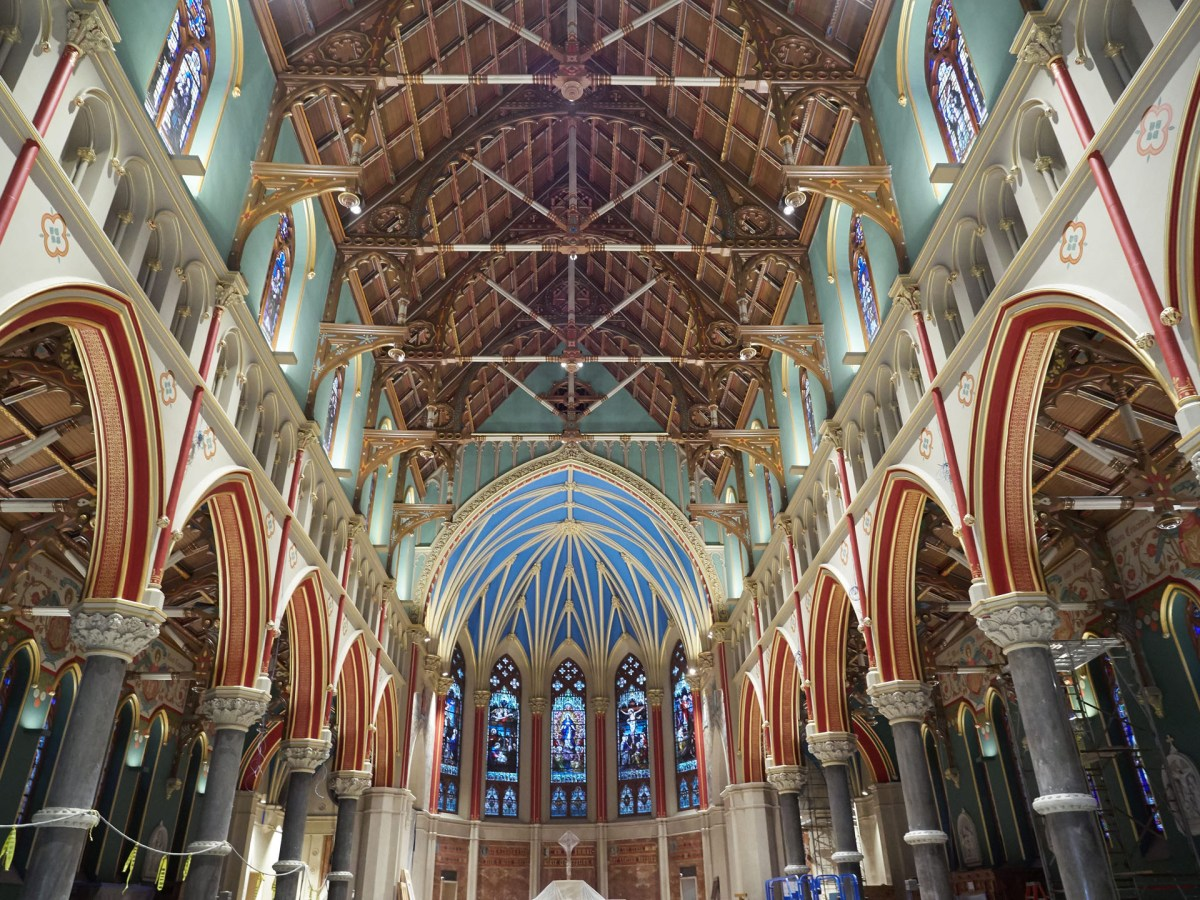 Holy beauty: Rector reflects at one-year anniversary of Cathedral's restoration
