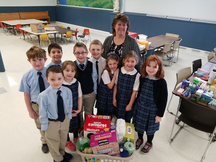 Syracuse Diocese Catholic Schools to Celebrate Catholic Schools Week with Service Projects, Family Celebrations
