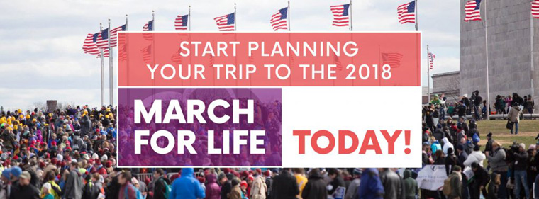 Diocese of Syracuse to Participate in Annual March for Life in Washington, D.C.