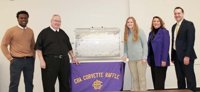 CBA parent wins 27th annual Corvette Raffle