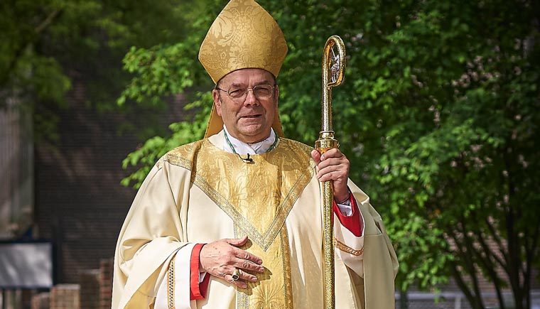 A shepherd reflects: Bishop Robert J. Cunningham marks 75 years