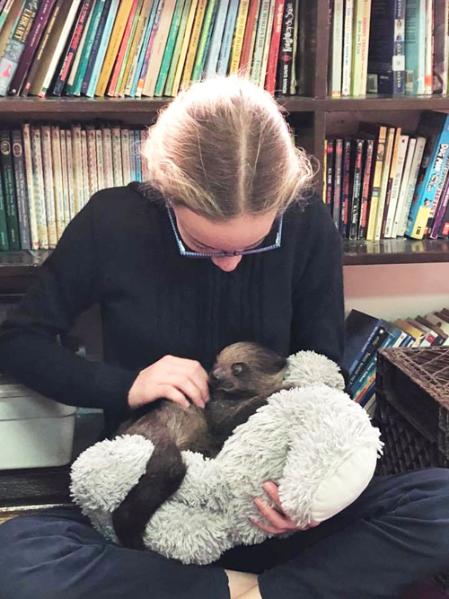 49239563 1345325028943535 1011882543907078144 n - Cuddly critter pays a visit to St. Patrick's