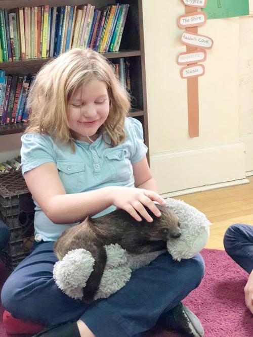 49831807 1345325008943537 974701256838742016 n - Cuddly critter pays a visit to St. Patrick's