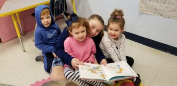ic read 2 - Good buddies like to read at IC School