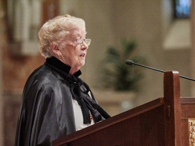 Tina Dyer - 'A good balance of Faith and Action'