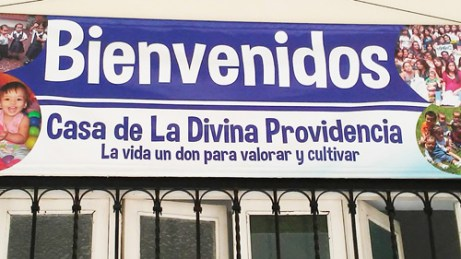 sign at Divine Providence Home