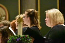 two girls - Concert glories in 'the magic of Christmas music'