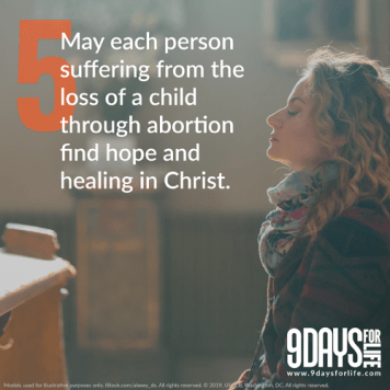 2020 9days Day5 - Faithful invited to join 9 Days for Life novena