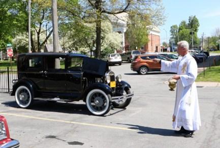 new IMG 2507 crop copy - Roadworthy: Freshly blessed vehicles tour Oneida County
