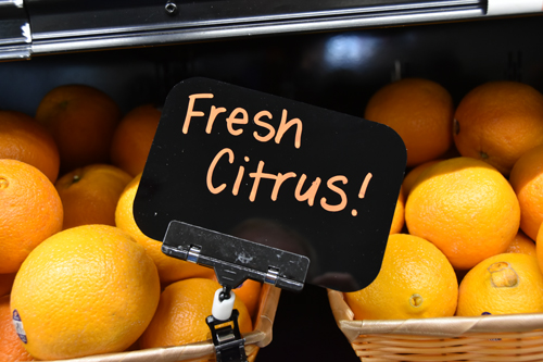 fresh citrus - Brady Market 'counting on you'