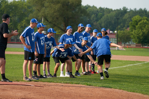 CFW0761 - Annual vocations softball game is a hit