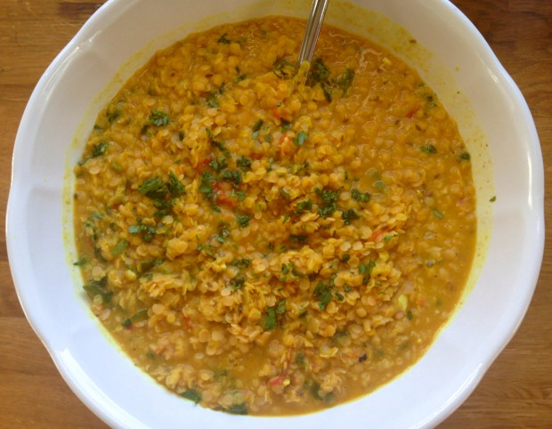 Curried Lentils 7