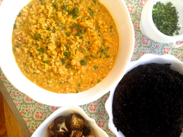 Curried Lentils 8
