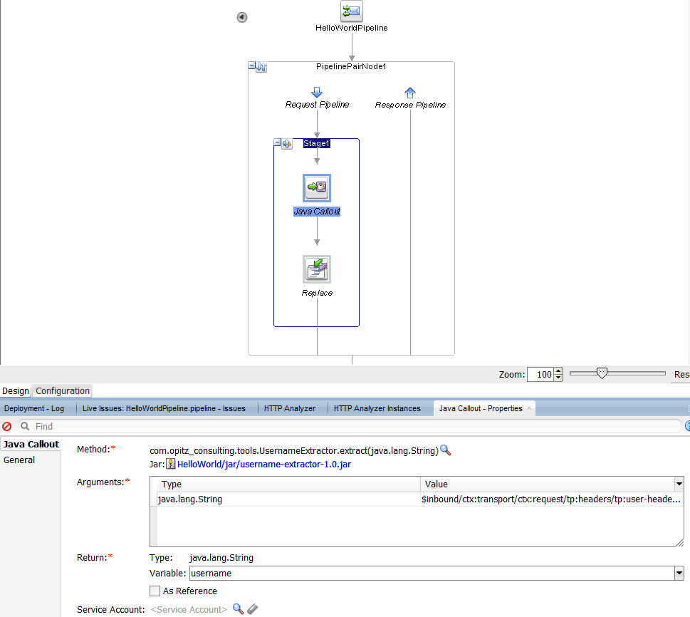 Oracle Service Bus 12c: Retrieving Username from HTTP Basic