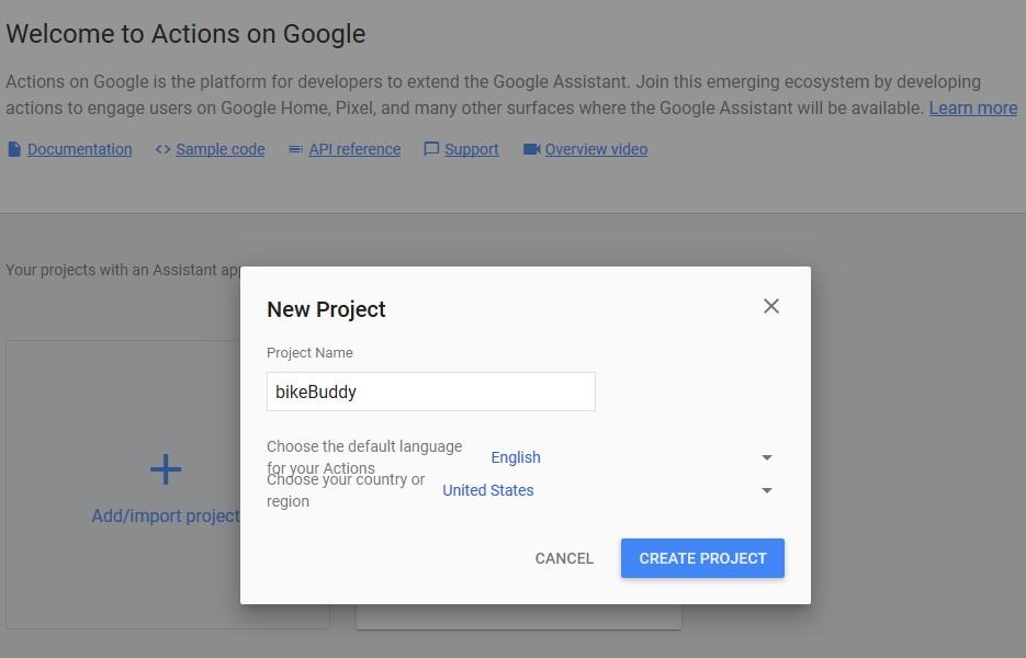 Wie programmiert man Google Home Assistent Skill? Node js