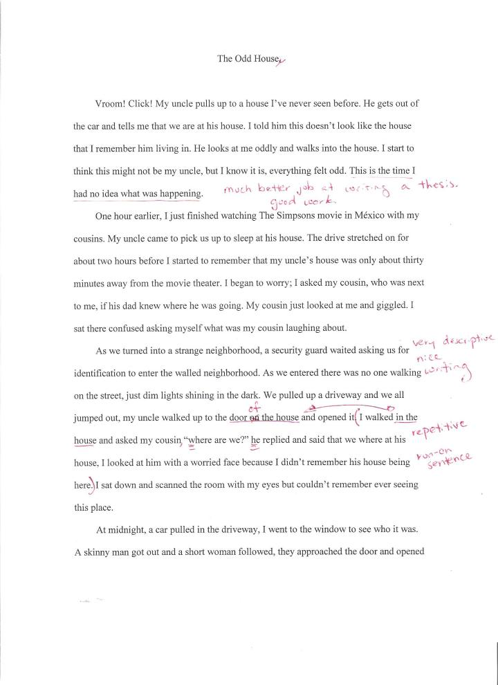 life story essay examples
