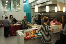 Cauldron Market Day - no cooking in the kitchen today, only networking and tasting.