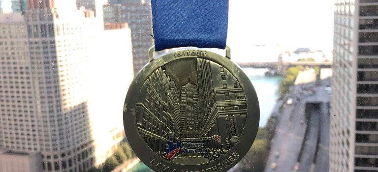 Medal Monday: Gratitude for the 2019 Chicago Marathon experience