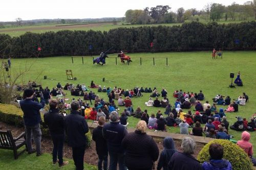 Berkeley Castle Medieval Jousting Show 2017 - from The Cavalry of Heroes and their Stunt Horses at Berkeley Castle