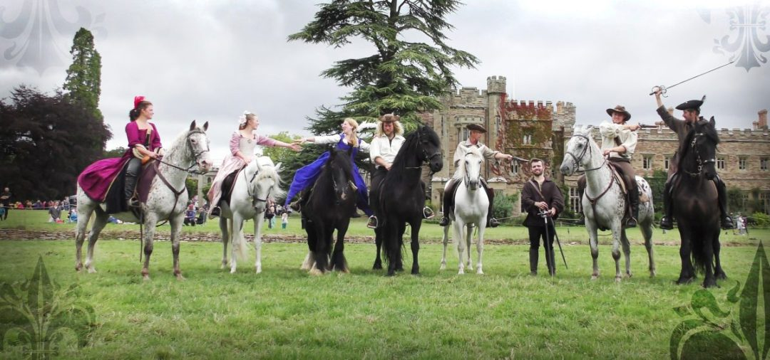 The Cavalry of Heroes Highwayman Adventure Stunt Riders and Performers Team Photo