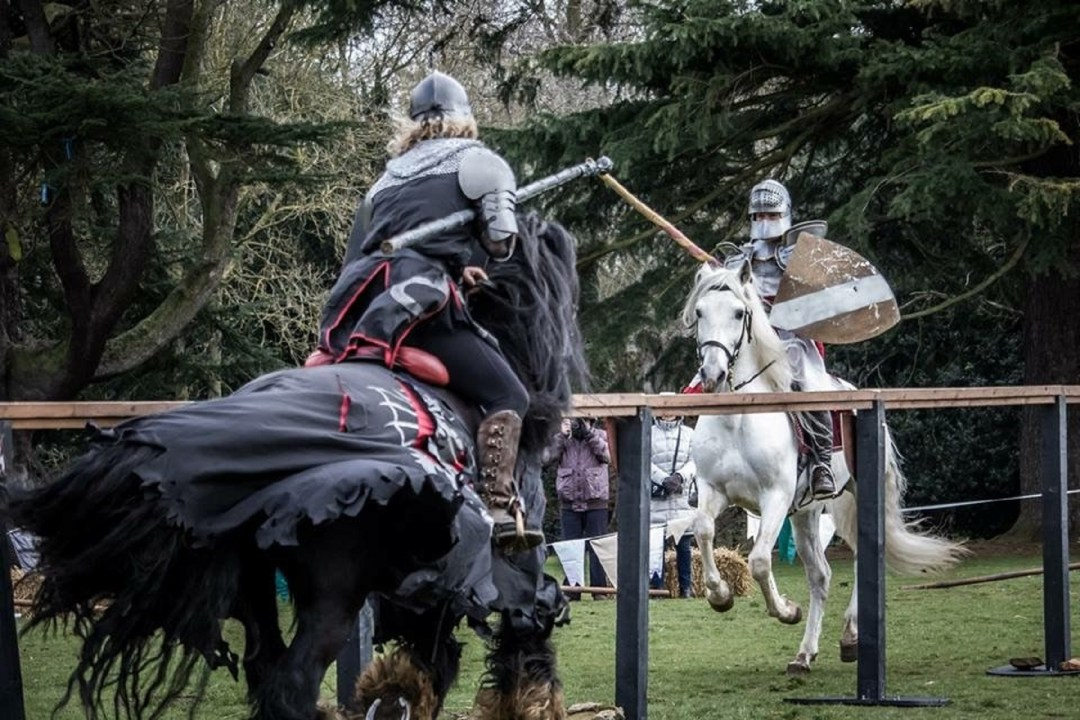 The Cavalry of Heroes Knights on Horseback Medieval Jousting Delapre Abbey Marc Lovatt Trick and Stunt Horses