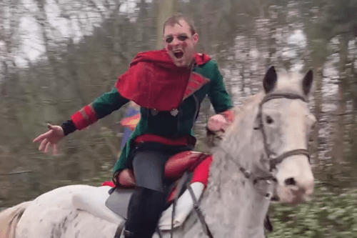 Sir Robbie - Rider and Jouster