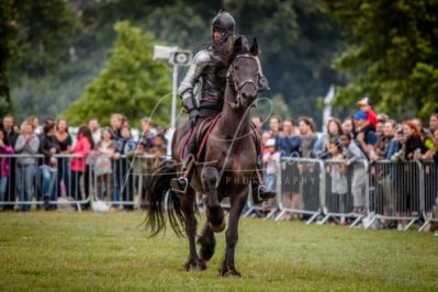 The Cavalry of Heroes performing Medieval Jousting Show at Lambeth Country Show 2017 Knights on Horseback 20