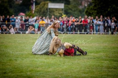 The Cavalry of Heroes performing Medieval Jousting Show at Lambeth Country Show 2017 Knights on Horseback 21