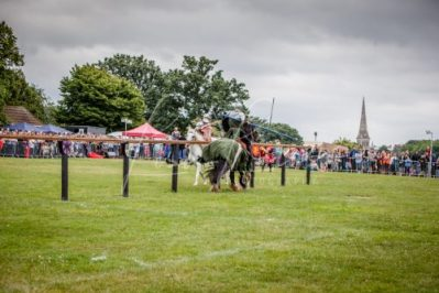 The Cavalry of Heroes performing Medieval Jousting Show at Lambeth Country Show 2017 Knights on Horseback 45