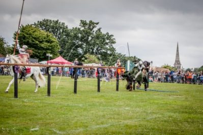 The Cavalry of Heroes performing Medieval Jousting Show at Lambeth Country Show 2017 Knights on Horseback 46