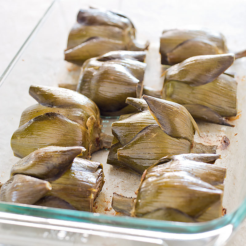 Roasted Artichokes from Cook's Illustrated