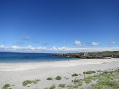 Beach on the way up to Dun Aonghasa