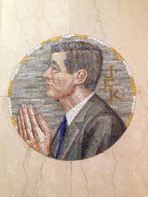 JFK Mosaic in the Galway Cathedral